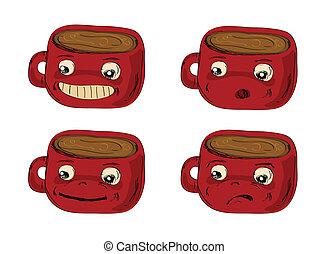 mugs Hand drawn