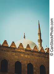 muhammad ali mosque at cairo, egypt