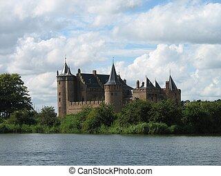 muiderslot4659 - Medieval castle in Holland
