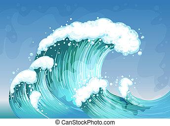 muito, onda grande