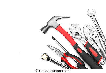 muitos, ferramentas