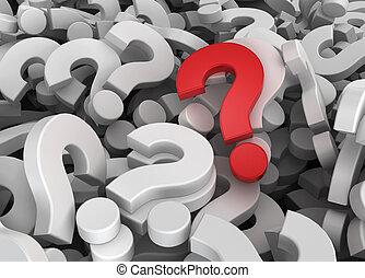 muitos, original, perguntas, um