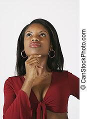 mujer americana africana