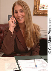 mujer de negocios, 2