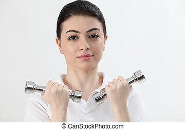 mujer, ejercicio