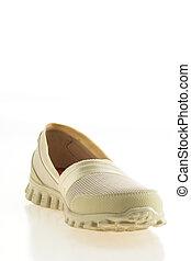mujeres, zapatos del deporte