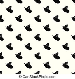 Mulberry pattern vector seamless