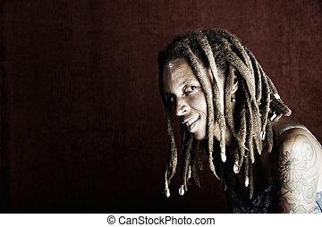 mulher americana africana