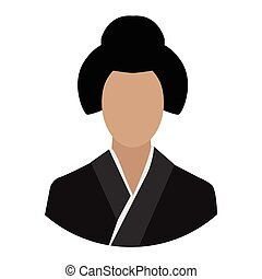 mulher asian, avatar