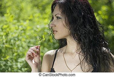 mulher bonita