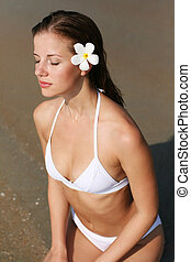 mulher bonita, swimsuit