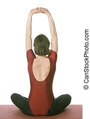 mulher, exercitar