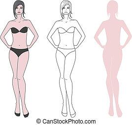 mulher, figura