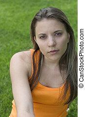 mulher jovem