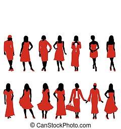 mulher, moda