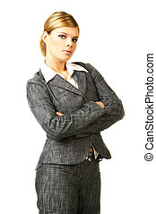 mulher negócio, 6