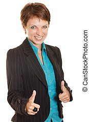 mulher negócio, sucesso