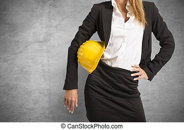 mulher, no trabalho