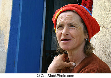 mulher sênior