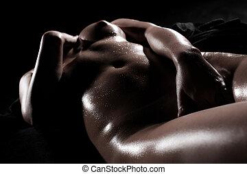 mulher, sensual