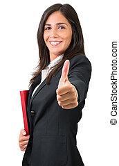 mulher, tá bom sinal, negócio