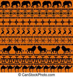mulheres, animais, motives, africano