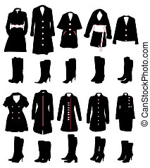 mulheres, roupas