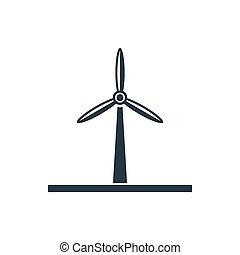mulino vento, icona