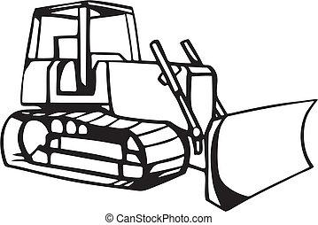 mull, flyttande fordon