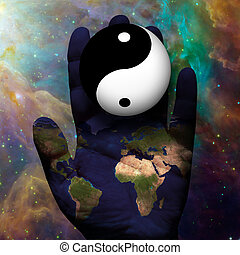mull, yin yang
