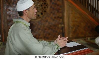 mullah, mosquée