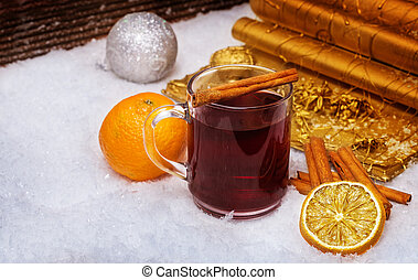 Mulled wine, punch