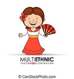 multi étnico