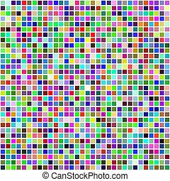 multi , τετράγωνο , γραφικός , χρώμα , επιστρώνω με πλακάκια , seamless