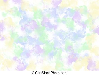 multi, ペンキ, ストローク, 抽象的, 色, ブラシ, 背景