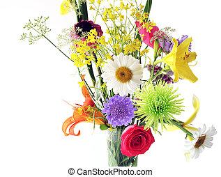 multi, blomster