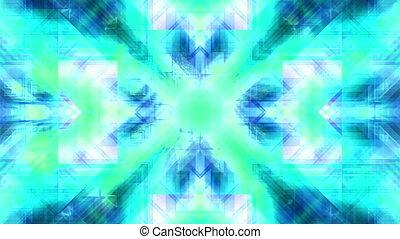 Multi color abstract VJ loop