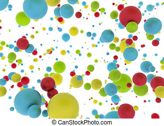 Multi color balls