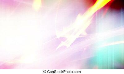 Multi color flowing abstract loop