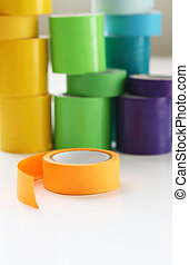 Multi Color Rolls of Tape