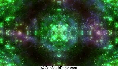 Multi color VJ Particle Loop - Multi color VJ Particle...