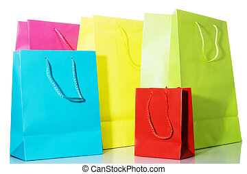 Multi-colored Bags