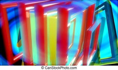 multi-colored, box, zoom