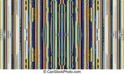 Multi-colored cyberpunk line art, creative abstract background. Stylish transformations.