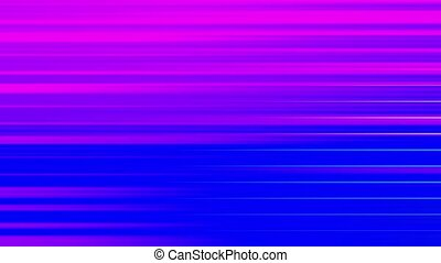 multi-colored horizontal stripes blink abstract background.