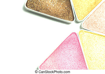 make-up eye shadow - Multi colored make-up eye shadow