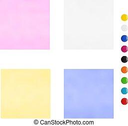 multi-colored, stickers.vector, illustration.