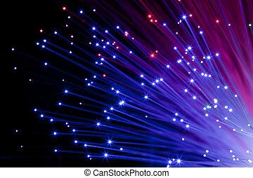 multi coloriu, ótico, fibras