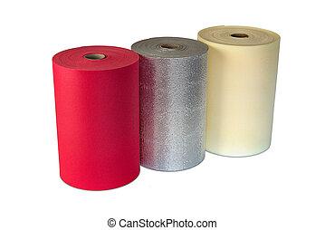 Multi Colour Rolls Polyethylene Material Shockproof Foam -...