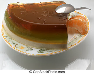 Multi-coloured jelly 6